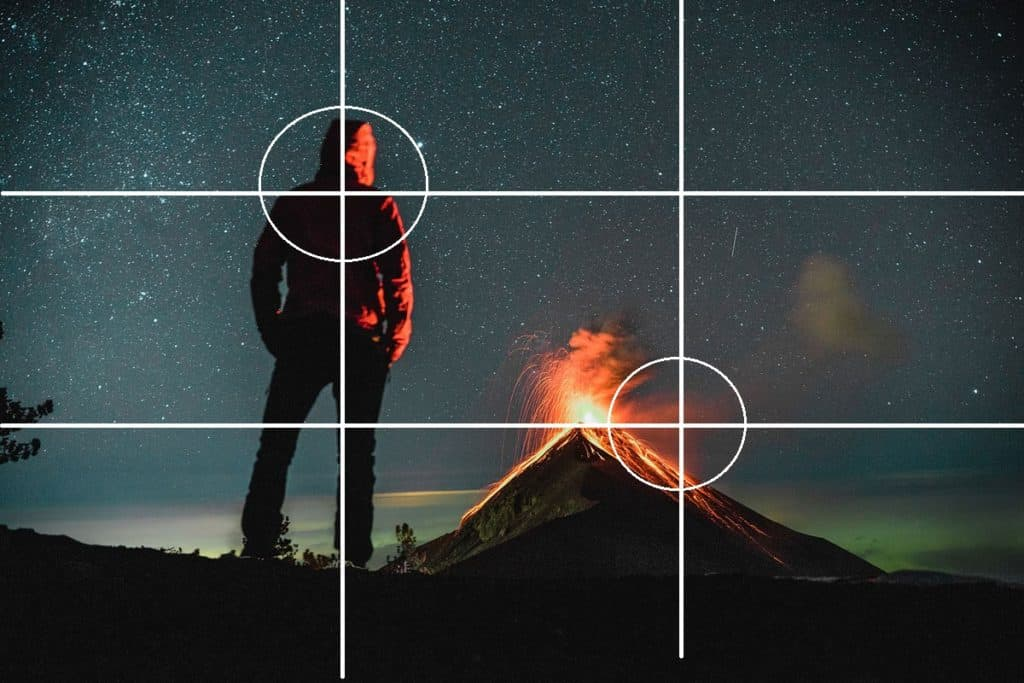 Composition Volcano Acatenango