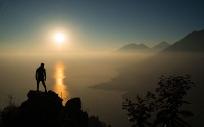 The Best Hike in Lake Atitlan: Indian Nose Hike At Sunrise