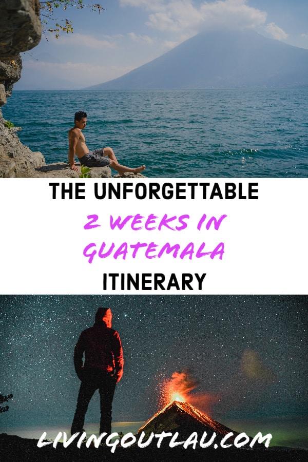 2-Weeks-in-Guatemala-itinerary Pinterest