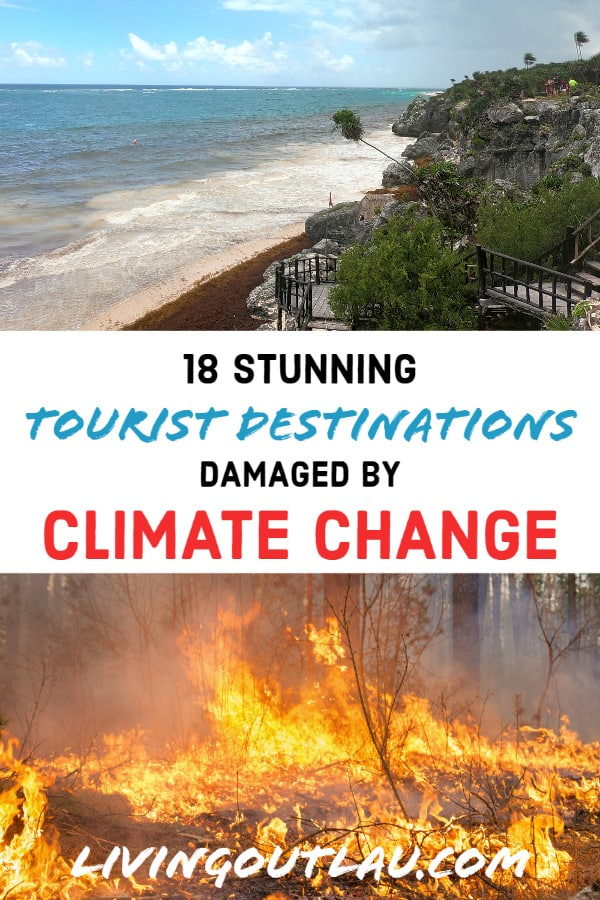 Climate-Change-On-Tourist-Destination Pinterest