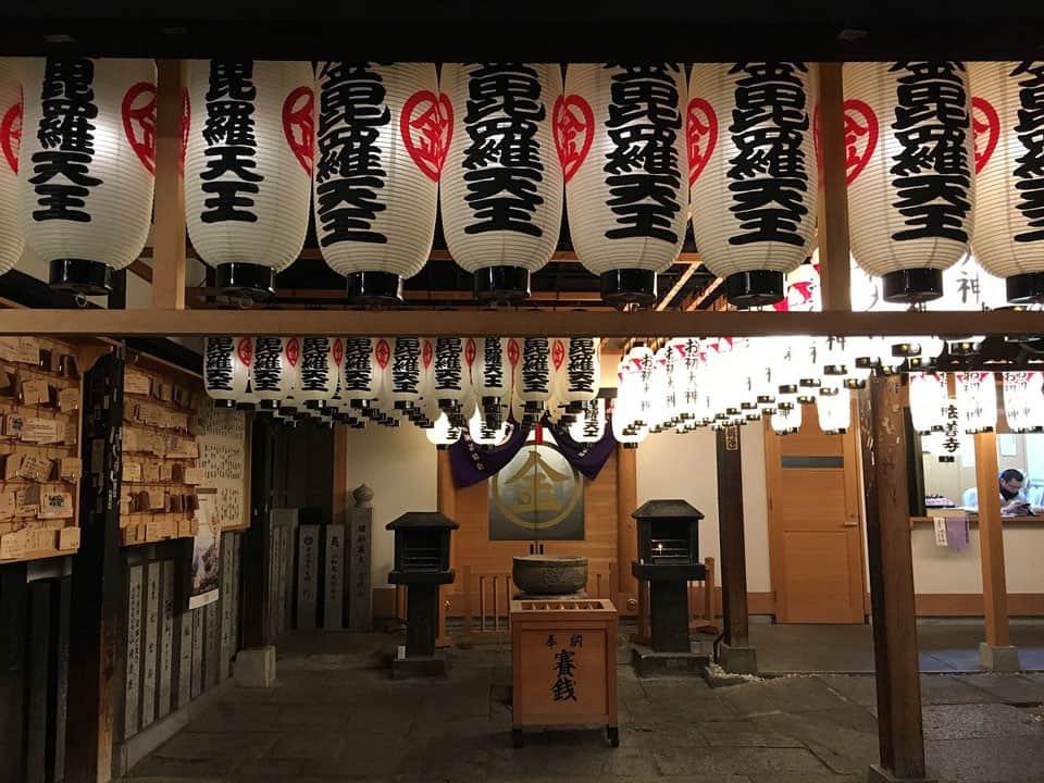 Hozenji-Temple