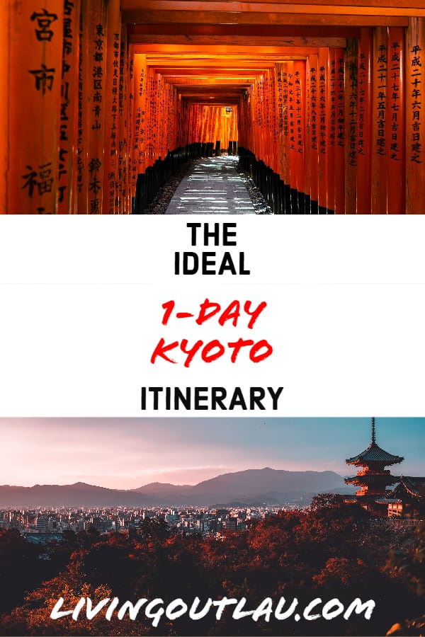 Kyoto-Itinerary Japan Pinterest
