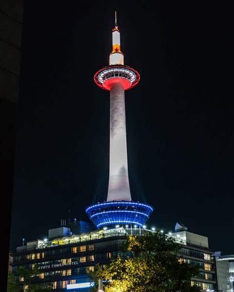 Kyoto-Tower-At Night