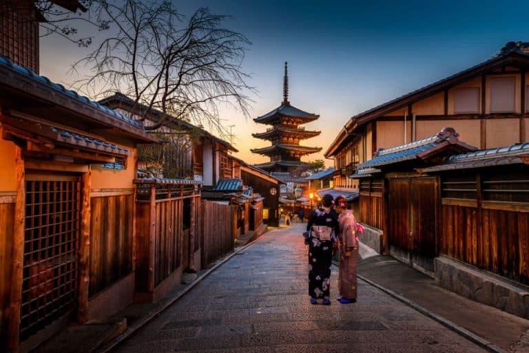 Yasaka Street Yasaka Pagoda