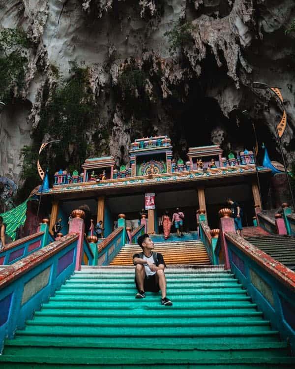 Batu-Caves-Steps-2-days-in-Kuala-Lumpur
