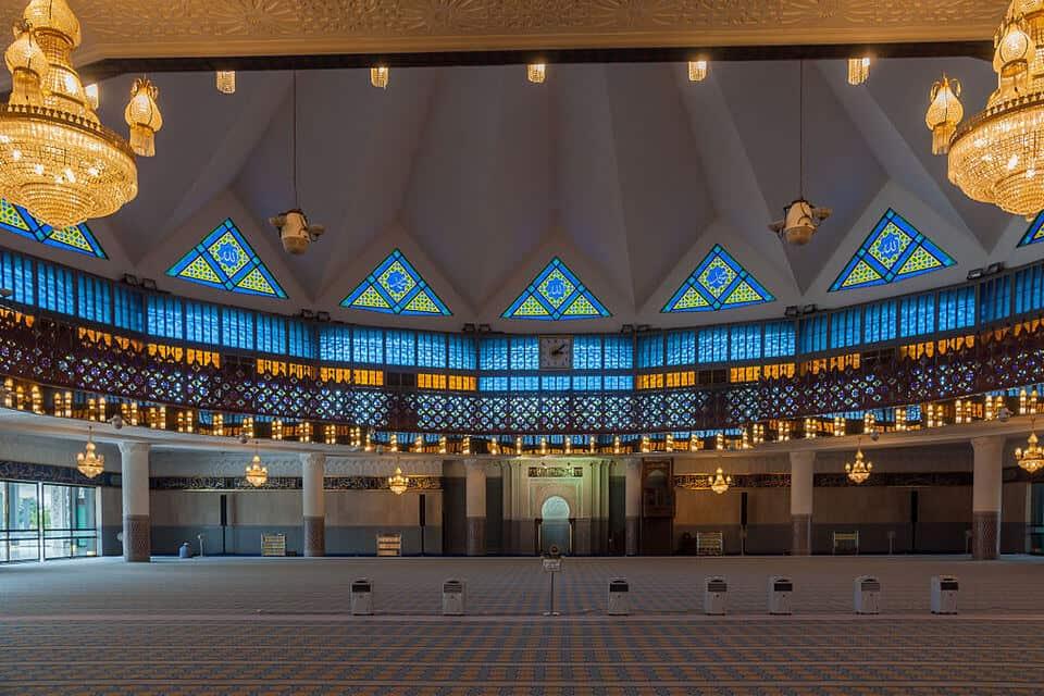 Kuala Lumpur National Mosque (1)