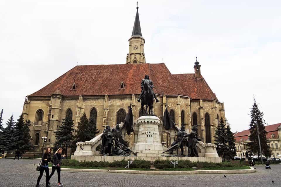 Cluj-Napoca-Unirii-Square