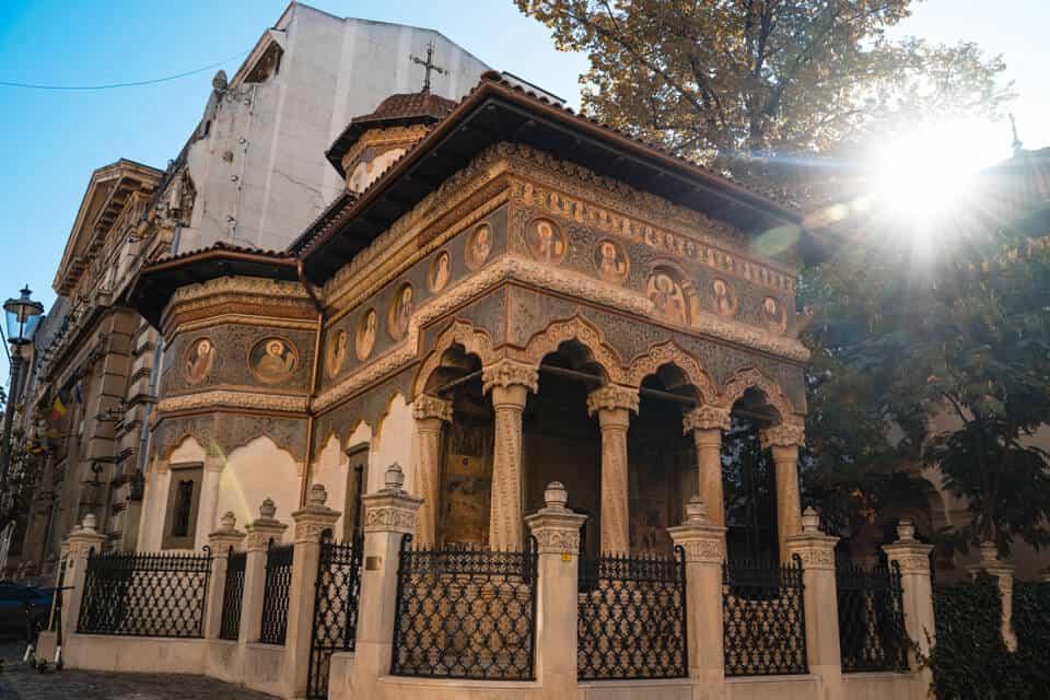 Stavropoleos-Monastery-Bucharest