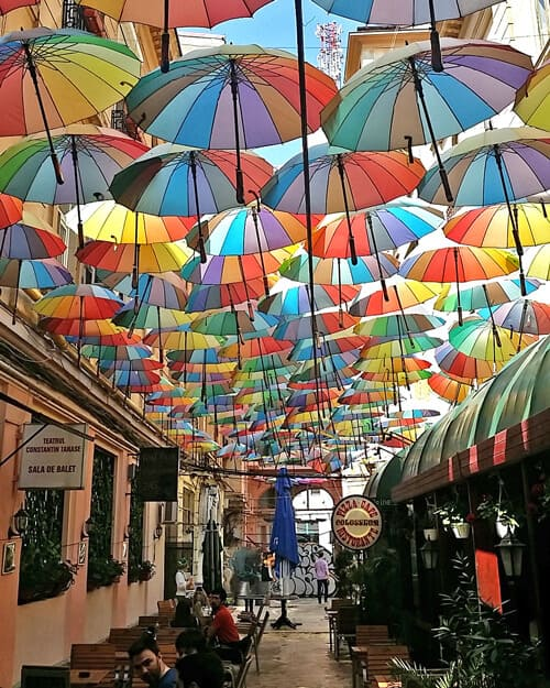 Bucharest-Umbrella-Street-Pasajul-Victoria