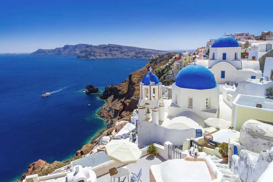 Santorini Greece Best Places in Europe for Winter