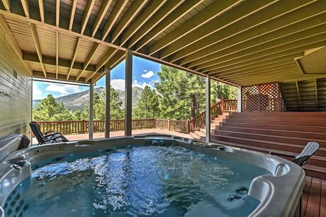 Airbnb in Flagstaff With Hot Tub