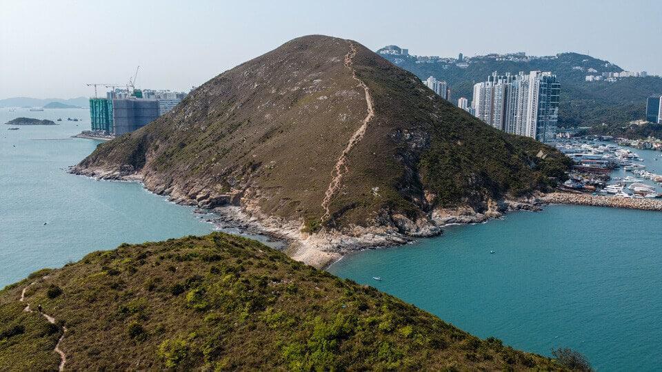 Ap Lei Chau Drone Shot