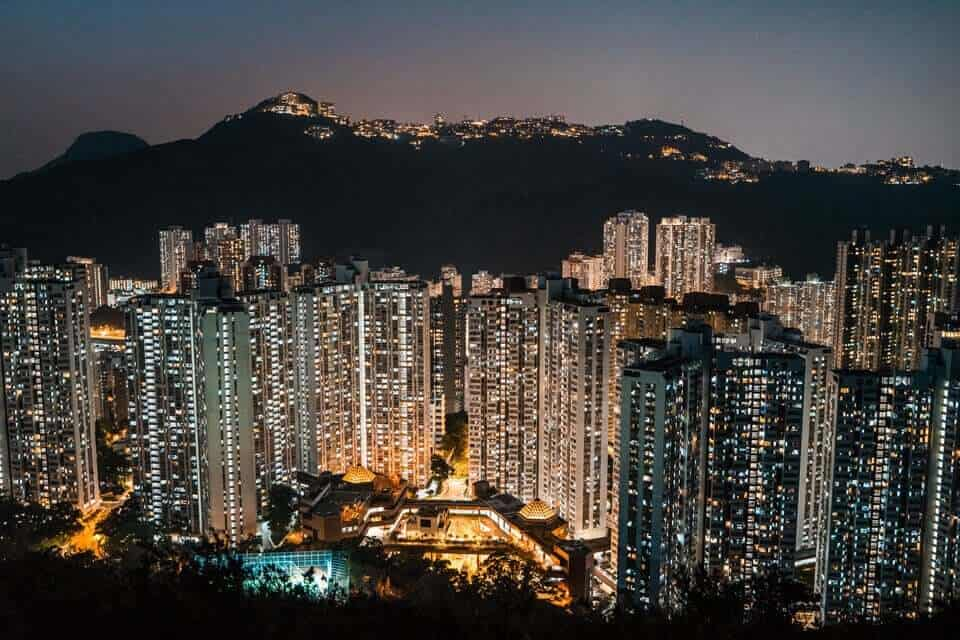 Ap Lei Chau Night View