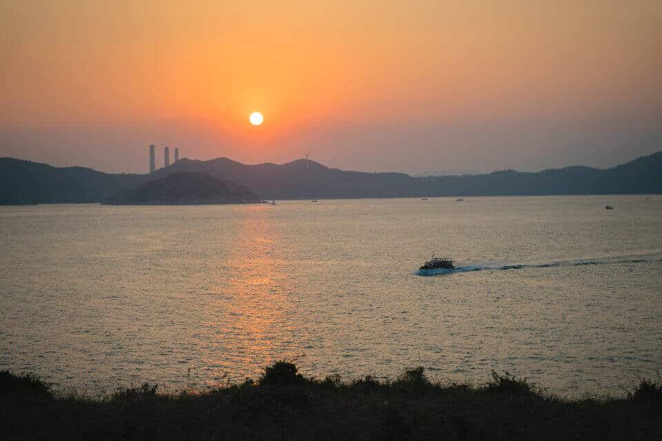 Ap Lei Chau Sunset