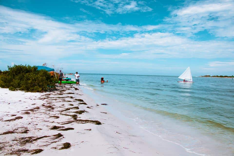 Honeymoon Island Florida Warm Places In December USA