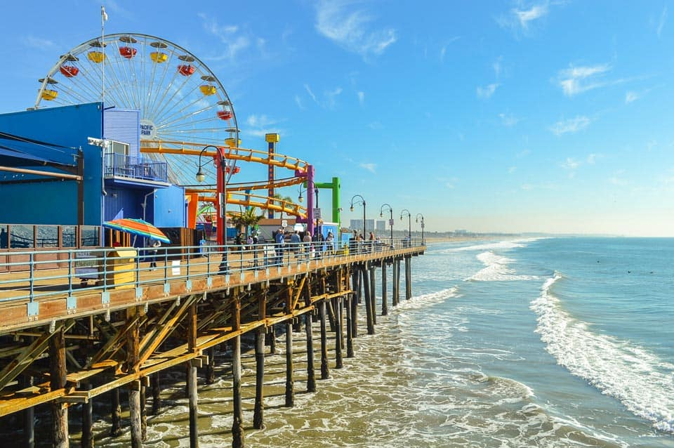 Los Angeles California Warm Winter Vacations USA