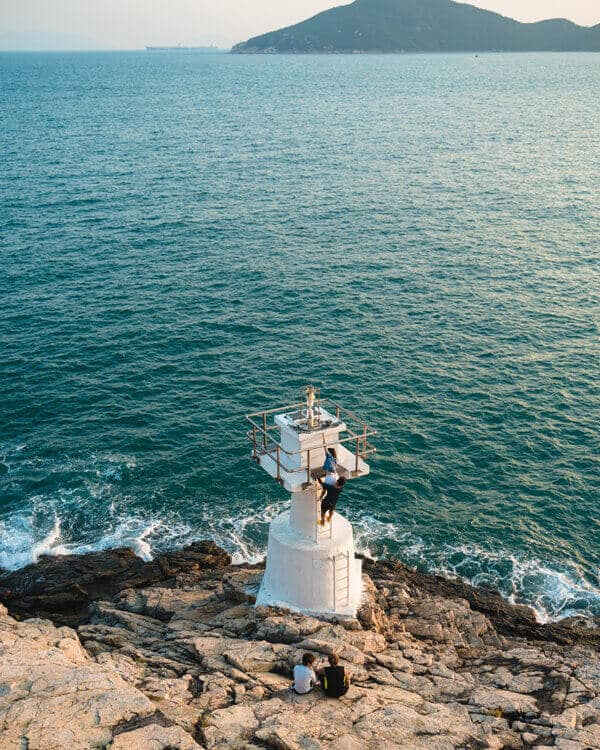 Mount Johnston Lighthouse Hong Kong