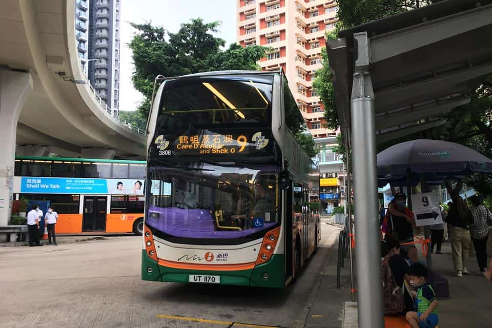 No.9 Bus From Shau Kei Wan To Cape D'Aguilar