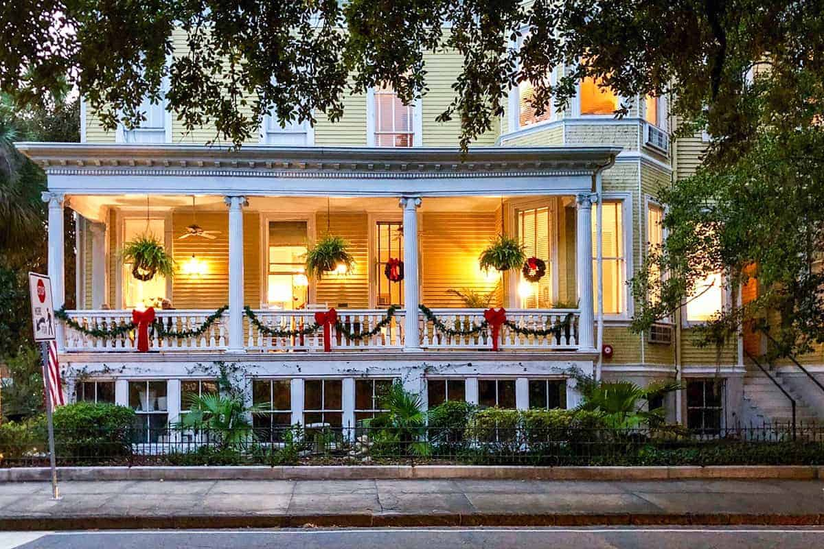 Savannah Georgia Warm Christmas Destinations USA
