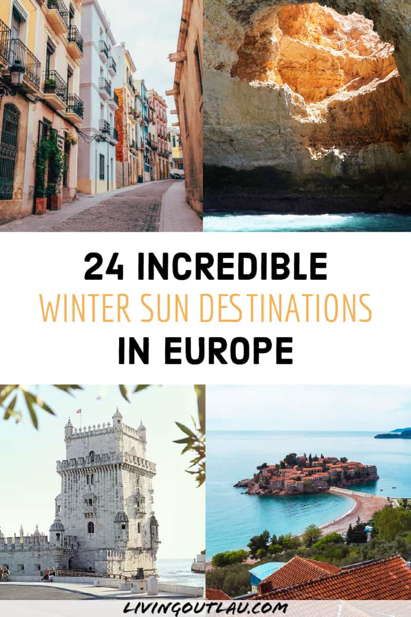 Winter Sun In Europe Destinations Pinterest