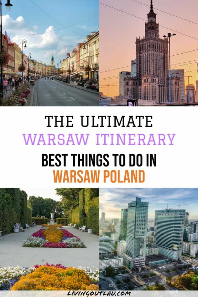 1 Day In Warsaw Itinerary Pinterest