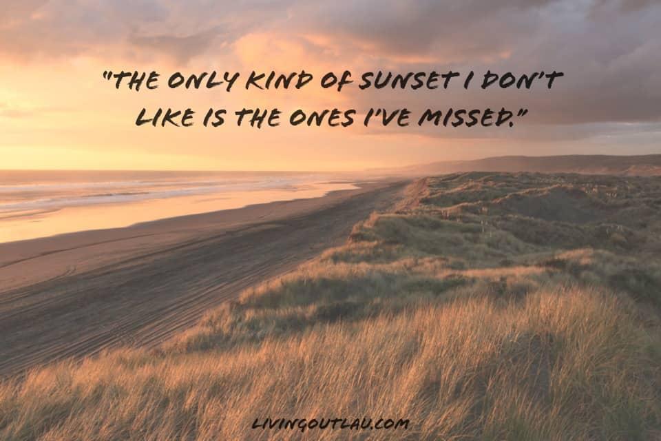 Funny Sunset Captions