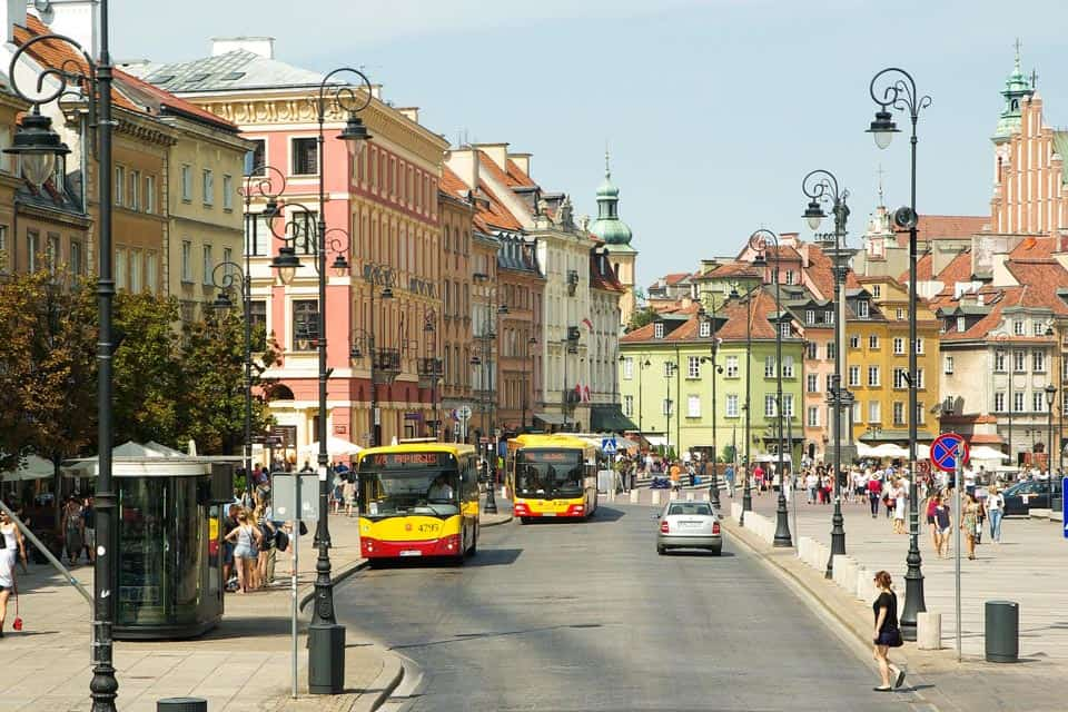 How To Get To Warsaw