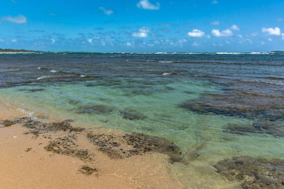 Malaekahana Beach In Oahu North Shore