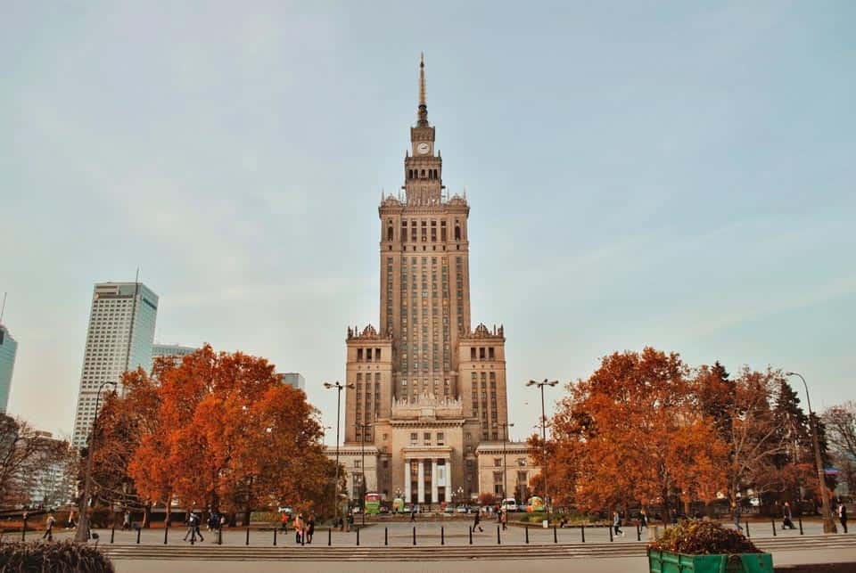 Palace Of Culture and Science Warsaw Trip