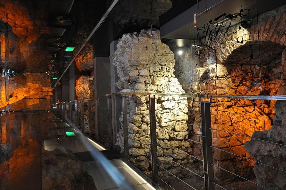Rynek Underground Museum Krakow Poland