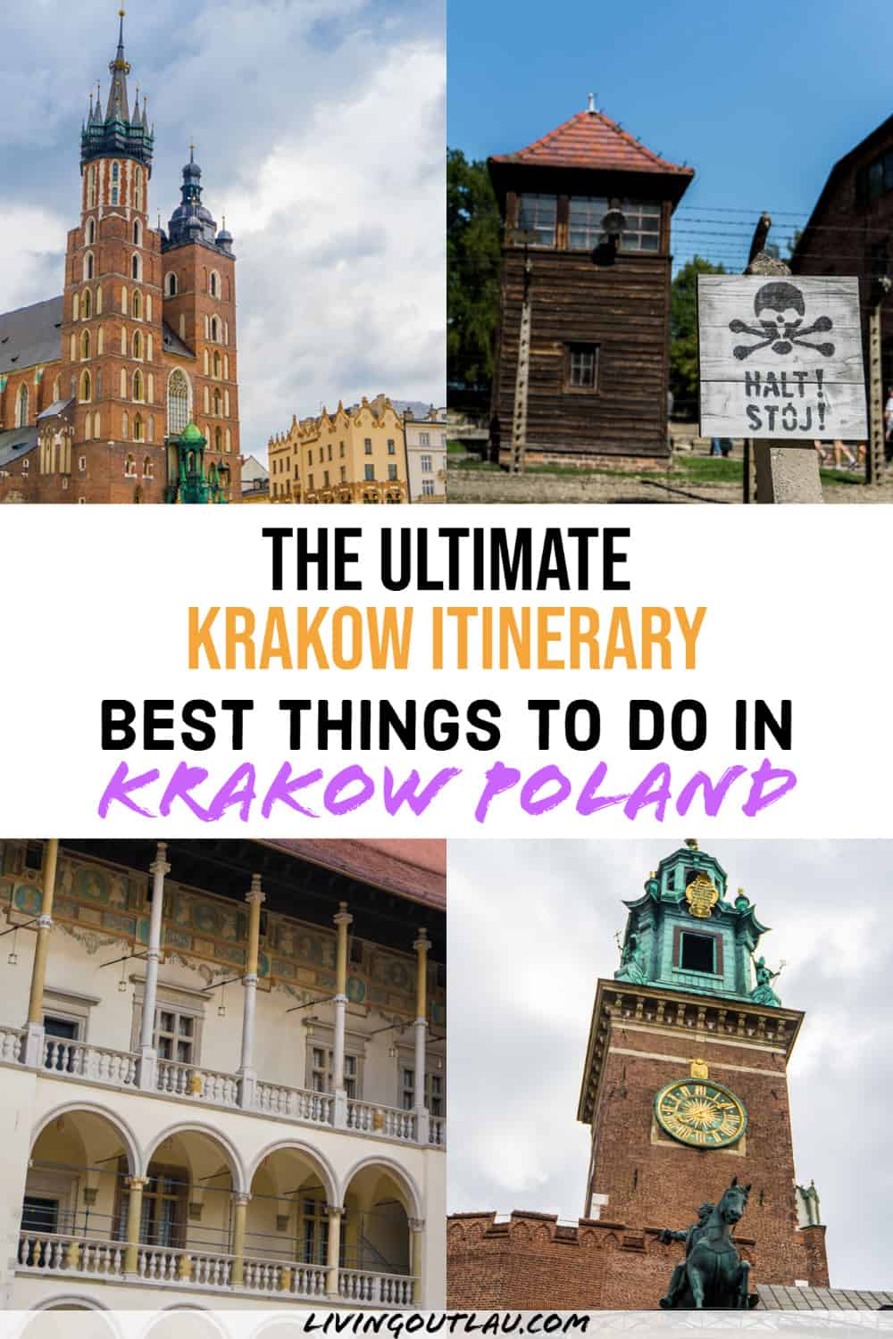 Things To Do In Krakow Itinerary Pinterest