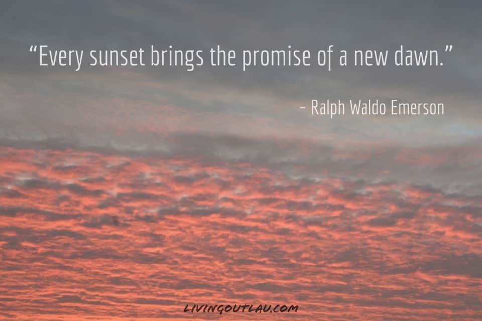Top Sunset Quotes To Caption