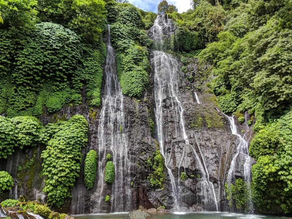 Banyumala Twin Waterfalls Bali Indonesia