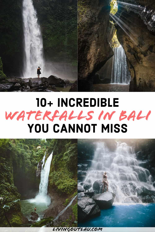 Best Bali Waterfalls Near Ubud Canggu Pinterest