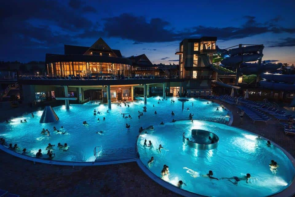 Chocholowskie Thermal Baths In Zakopane