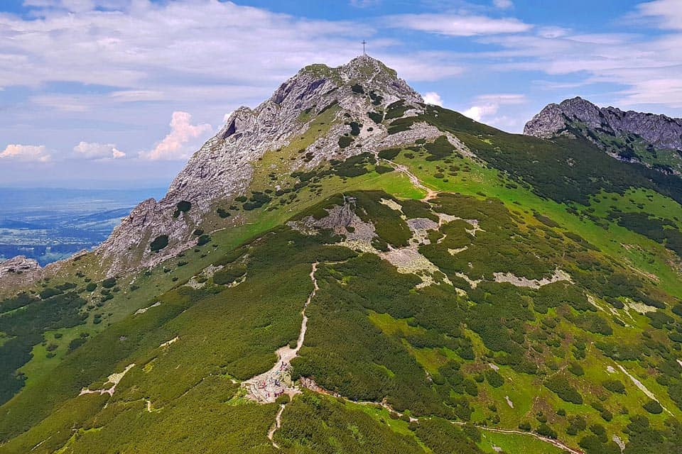 Giewont Mountain Zakopane in Summer
