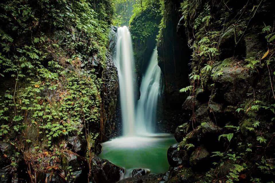 Gitgit Waterfall in North Bali