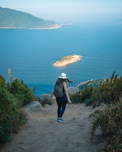 Hiking Rhino Rock Hong Kong