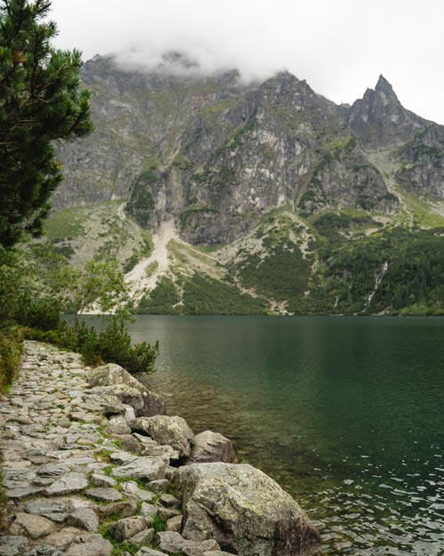 Lake Morskie Oko Zakopane Poland