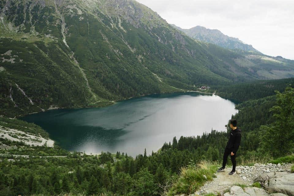 Morski Oko Lake Zakopane Poland