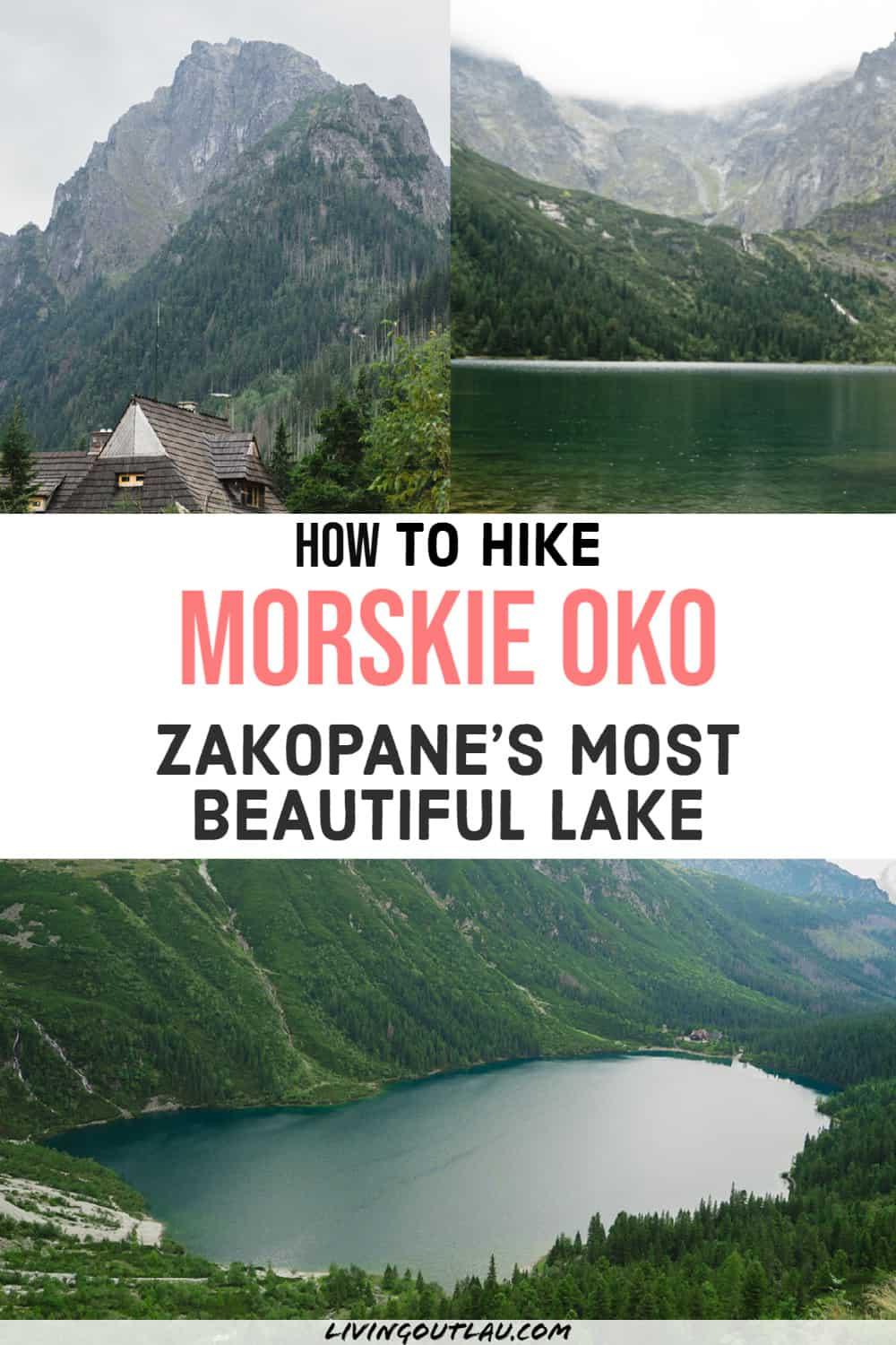 Morskie Oko Lake Hike Zakopane Poland Pinterest