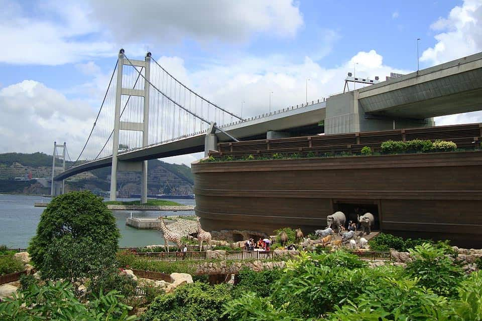 Noah's Ark Ma Wan Hong Kong