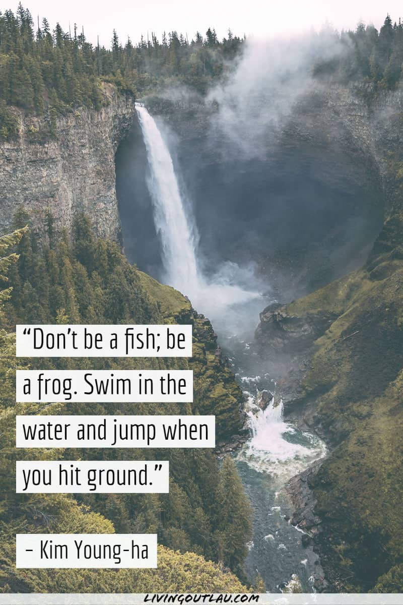 Powerful Waterfall Quotes