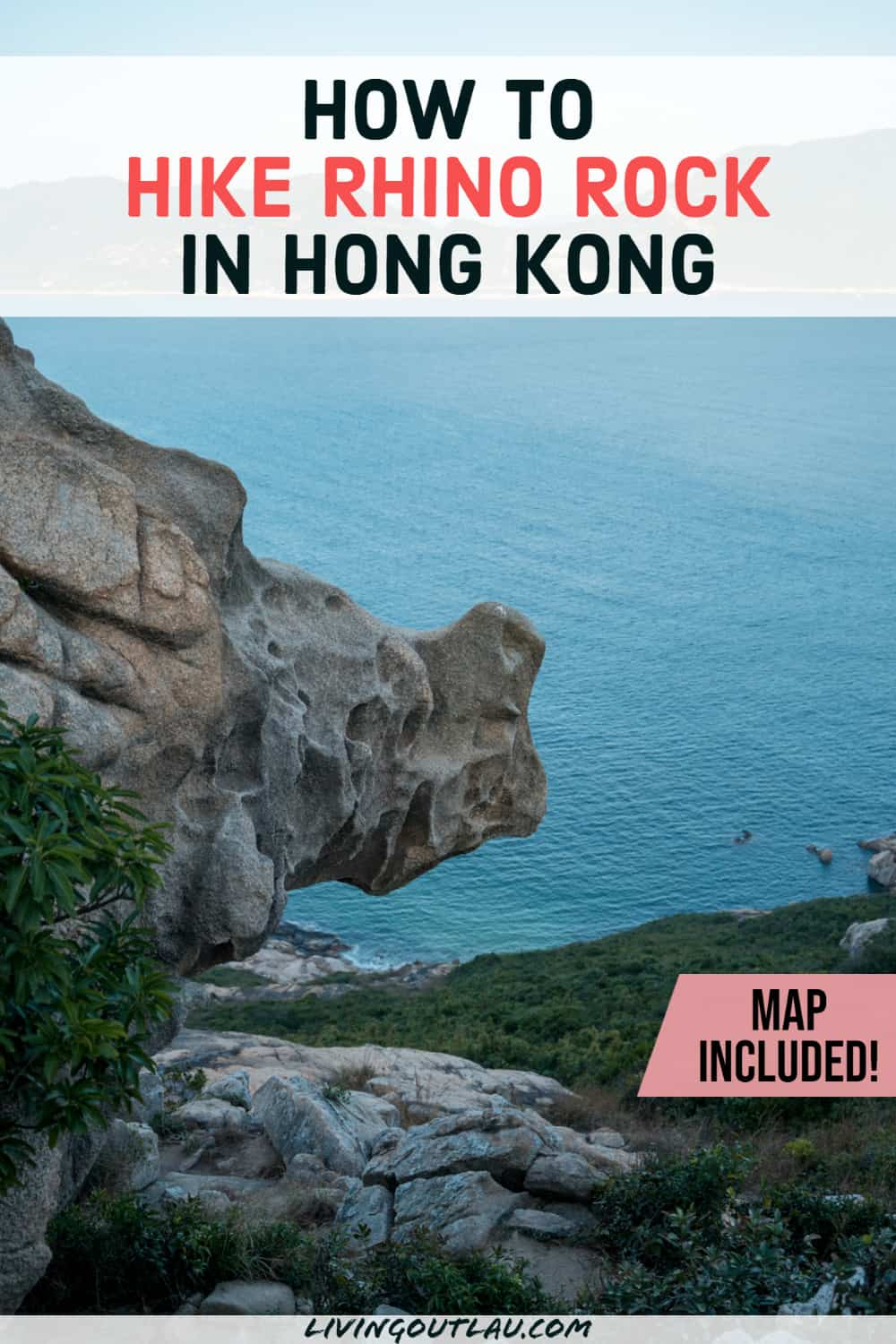 Rhino Rock Hong Kong Hike Pinterest