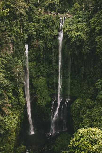 Sekumpul Waterfall Bali Indonesia