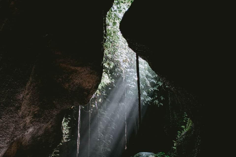 Tukad Cepung Waterfall Bali Featured