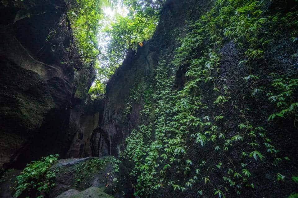 Tukad Cepung Waterfall Entrance FEe