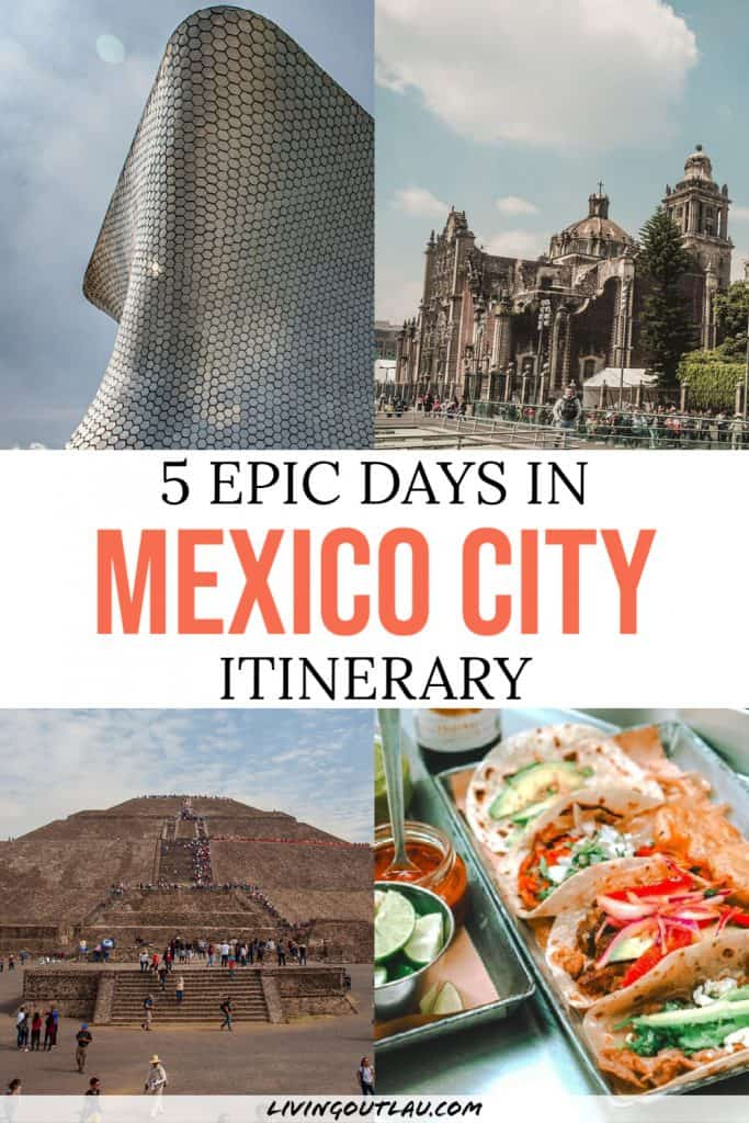 5 days in mexico city itinerary Pinterest