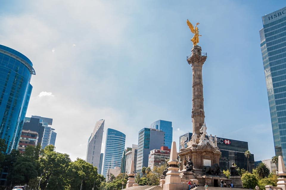Angel Of Independence Mexico City Trip