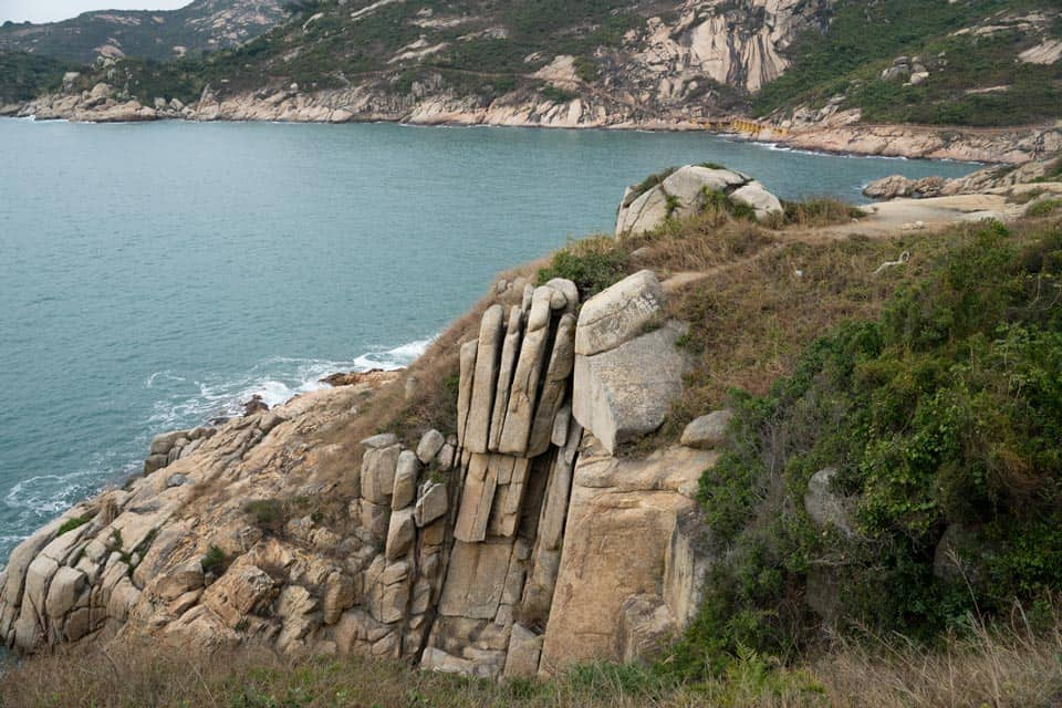 Budhha's Hand Palm Cliff Po Toi Island